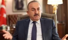 خارجية تركيا تهدد بشن عملية عسكرية أخرى بشمال شرق سوريا ما لم يخرج منها المقاتلون الأكراد