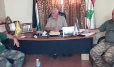 ابو عرب ترأس اجتماعا لقيادة الامن الوطني في منطقة صيدا