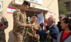 مسيرة تضامنية مع الجيش اللبناني وقائده في العيشية