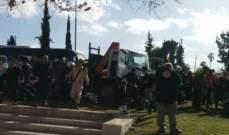 إصابة جنديان إسرائيليان بعملية دهس جنوب نابلس وتوقيف المنفذ