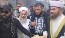 وفد كبير من هيئة علماء المسلمين في لبنان يزور مخيم عين الحلوة