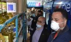 رئيس بلدية طرابلس جال على محال تسليم الحصص للتأكد من عدم التلاعب