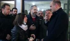 حمد حسن يتفقّد مكتب وزارة الصحة على الحدود اللبنانية السورية