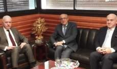 رئيس مجلس القضاء الاعلى بحث ونقيب الاطباء في القضايا المشتركة