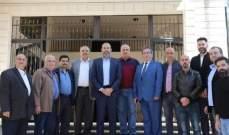 النشرة: انتخاب هيئة ادارية جديدة لجمعية تجار محافظة النبطية