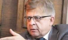 زاسبكين: المشكلة هي بإستهداف لبنان ككل بحجة إستهداف حزب الله