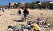 """""""الكتائب"""" تنظم حملة تنظيف لشاطئ الرميلة"""