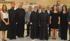 الأب طلال هاشم وأعضاء مجلس جامعة الروح القدس تقبلوا التهاني بمناسبة تعيينهم
