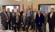 نقيب المحررين زارالقنصل اللبناني والمطران رباط ومجلس النواب في سيدني
