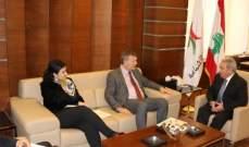 المشرفيه التقى لازاريني وجيراد والغريب والسفير التركي