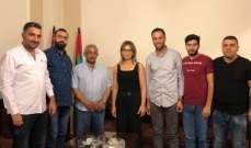 سعد عرض مع رؤساء الأقسام في مستشفى صيدا الحكومي خطتهم للنهوض بالمستشفى
