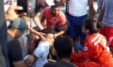 النشرة: جريحان في حادث سير بين سيارة ودراجة مقابل الميناء في صيدا