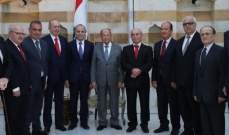 الرئيس عون لأعضاء المجلس الدستوري : كونوا أوفياء لقسمكم لان مسؤوليتكم كبيرة