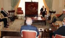 لقاء في دارة بهية الحريري للتداول في الاجراءات المتخذة لمواجهة كورونا