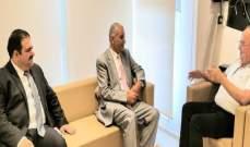 وهاب: لضرورة العمل على إنشاء إتحاد إقتصادي بين دول المشرق العربي