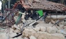 اصابة رجل امن وانهيار مطعم اثر انفجار اسطوانة غاز بعمان