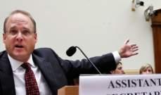 مساعد وزير الخزانة الأميركية مارشال بللينغسلي وصل إلى لبنان