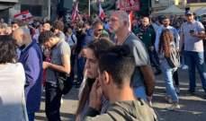 النشرة: محتجون تجمعوا في ساحة الاوتوستراد العربي ببلدة المرج