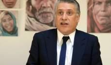 القضاء التونسي يرفض طلب إخلاء سبيل المرشح الرئاسي نبيل القروي