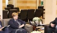 الحريري عرض مع فارننغ التعاون مع المانيا وملف النزوح