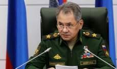شويغو: هناك قوى تحاول فرض قيم غريبة على الروس