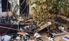 حريق وأضرار في أحد منازل اللاذقية جراء اشتباك بين قوات سورية وأحد المطلوبين
