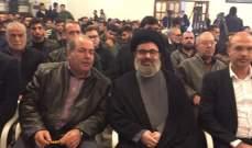 صفي الدين: البلد اذا انهار كل اللبنانيين سيتأذون والا سيندم البعض ولا ينفع عندئذ الندم