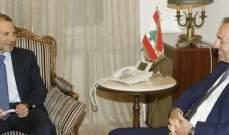باسيل استقبل سفيري بريطانيا والمانيا