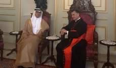 الراعي عرض التطورات مع بخاري والتقى سفير الهند الجديد