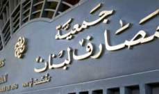 جمعية المصارف: أبواب المصارف ستبقى مقفلة يوم الإثنين في 21 تشرين الأول