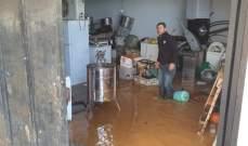 أضرار بالمزروعات والمنازل في عكار بسبب العاصفة