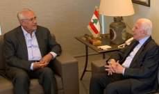 سليمان: لإتاحة الفرص الممكنة وطنيا للفلسطينيين للعيش بكرامة في لبنان