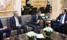 الحريري استقبل وفدا من مركز جنيف لإدارة قطاع الأمن