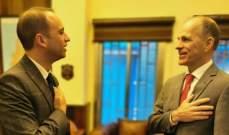 سفير هولندا زار محافظ بعلبك الهرمل: معنيون بلبنان مستقر