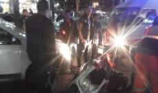 النشرة: جريحة بحادث صدم في صيدا