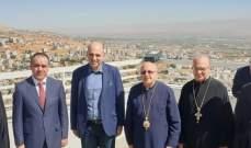 المطران درويش استقبل وزير الزراعة والبيئة الأردني