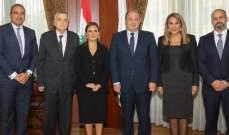 عربيد بحث مع وزيرة الاستثمار والتعاون الدولي بمصر العلاقات الاقتصادية بين البلدين