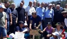 الشامسي من محمية أرز الشوف: نأمل كل الخير والإستقرار والأمان للبنان