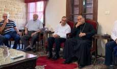 المطران حداد: نعم لحياة كريمة للفلسطينيين في لبنان ودعم حقهم في العودة