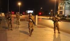 النشرة: الجيش رفع من اجراءاته المشددة لتطبيق مفاعيل التعبئة العامة في زحلة والبقاع
