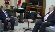 الرئيس عون تلقى من بستاني دعوة لحضور قداس في دير مار مارون مجد المعوش