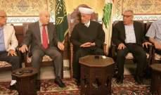 المفتي دريان استقبل وفدا من الجبهة الديمقراطية لتحرير فلسطين