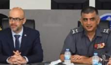 اللواء عماد عثمان استقبل وفدا فرنسيا بحث معه في تطوير التعاون