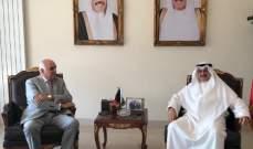 القصيفي التقى سفير الكويت وعرض معه الوضع العام