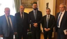 تيمور جنبلاط التقى بوغدانوف في موسكو بحضور أبو فاعور