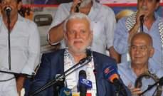 أبو العردات دعا لتحسين أوضاع الفلسطينيين بلبنان: أوقفنا صفقة القرن ونسعى لإسقاط مفاعيلها