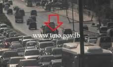 التحكم المروري: تصادم على جسر الدورة  باتجاه الكرنتينا