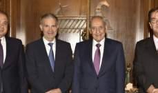 بري التقى مسؤول فرنسي وعرض الاوضاع العامة مع فارس سعد وفرعون