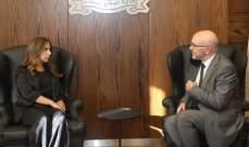 نائب وزير الدبلوماسية اليوناني التقى عكر وأكد دعم بلاده ووقوفها إلى جانب لبنان