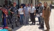 قسم التفتيش في البقاع دهم سوق بر الياس تطبيقا لخطة وزارة العمل